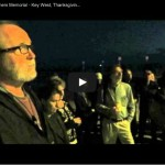 DEATH IN PARADIS: Candlelight Memorial for Charles Eimers, a Year Later