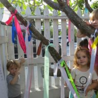Ribbons of Gratitude at Montessori Children's School