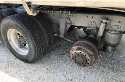 Sheriff Renders First-Aid to Mother and Children After Tractor-Trailer Loses Tires on US1