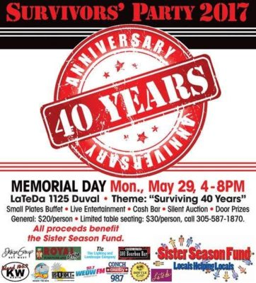 Survivor's Party Celebrates 40th Anniversary