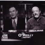 Dennis Reeves Cooper with Bill O'Reilly in 2001