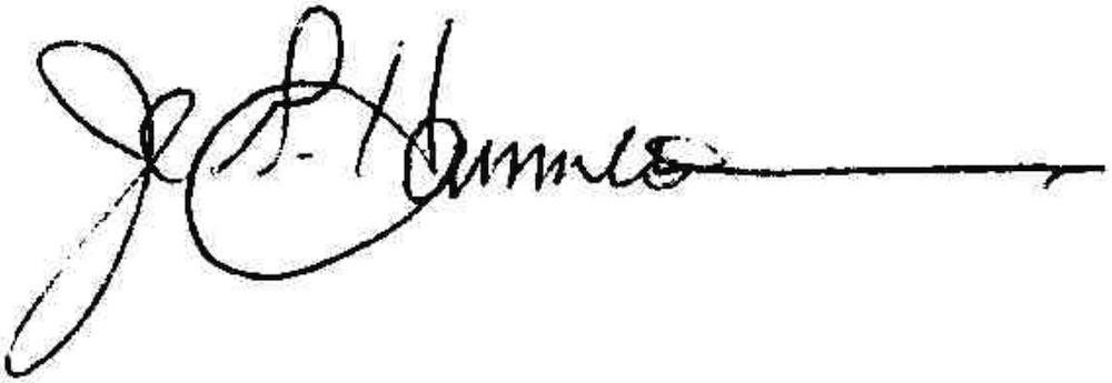 hammerstrom signature