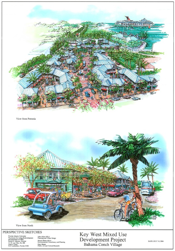 Bahama Village Rendering Florida Atlantic University