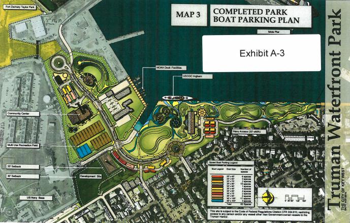 Park boat parking plan