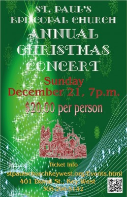 Don't Miss The Annual St. Paul's Christmas Concert!