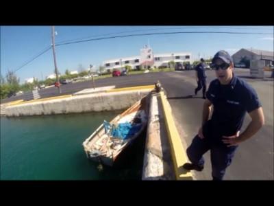 Cuban Migrant raft, held 13