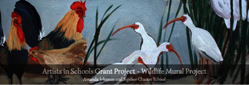 wildlife mural