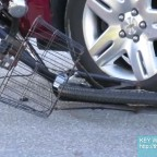 bike under car