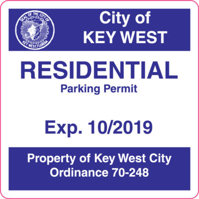 New Residential Parking Permits on Sale