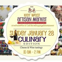 Key West Artisan Market: Culinary and Wine Edition is ThisSunday