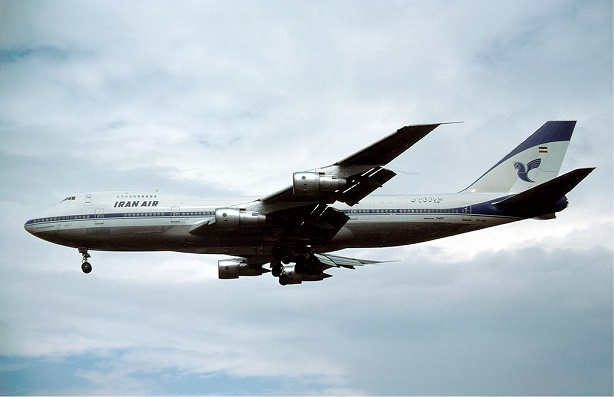 Boeing 747-200 of Iran Air at London Heathrow Airport (Photo credit: Wikipedia)