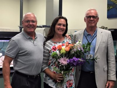 Coral Shore High School Home to Monroe County Schools 2017-2018 Teacher of the Year