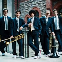 Canadian Brass Impromptu Concert Performance at St. Paul's Episcopal Church on Jan. 15