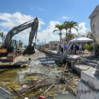 Hurricane Irma Marine Debris Cleanup Begins in Monroe County
