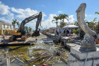 Hurricane Irma Marine Debris Cleanup Begins in Monroe County