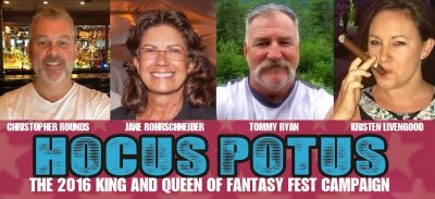 Fantasy Fest King & Queen Named Parade Grand Marshals