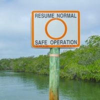 Monroe County Marine Resources Office Replaces Channel and Informational Markers