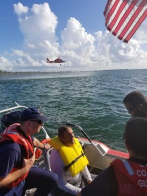 UPDATE! Coast Guard Finds Missing Man Near Islamorada