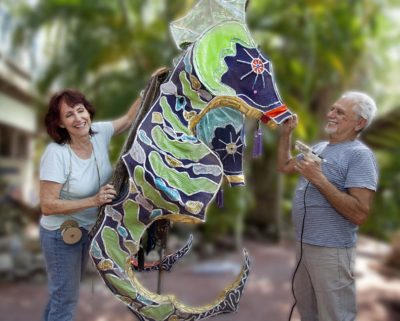 Kinetic Sculpture and Art Bike Creations Underway: a Q & A with Artist Susann D'Antonio