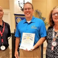 Key West Sunrise Rotary welcomes Hospital CEO as Member