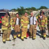 Monroe County Fire Rescue Train on Live Aircraft Fires