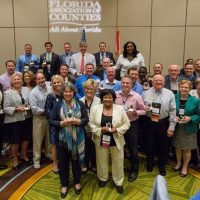 Mayor Carruthers Receives Advocacy Award from Florida Association of Counties