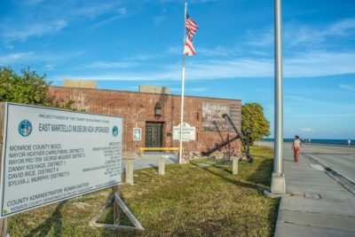 TDC-Funded Work Underway to Restore County's Historic East Martello Civil War Fort Museum