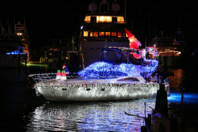 28th Annual Schooner Wharf Bar Lighted Boat Parade Set to Dazzle