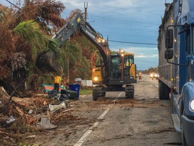 Hurricane Debris and Regular Garbage/Recycling Collection Update for Unincorporated Monroe County