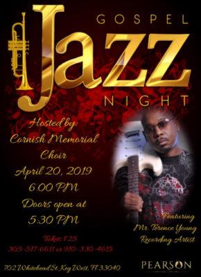 Gospel Jazz Concert at Cornish Memorial A.M.E. Zion Church