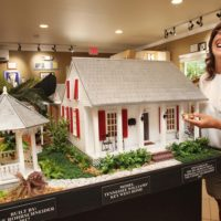 Commissioned Model of Tennessee Williams' Duncan Street House by Jane Rohrschneider Now on Display