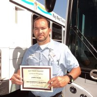 Bus Driver of the Year