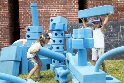 Parent & Me Fort Adventures for Children Resume September 4th