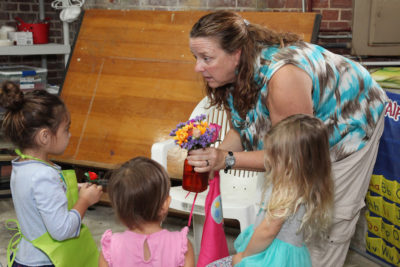 Parent & Me Fort Adventures For Children Happens Every Tuesday and Thursday through May