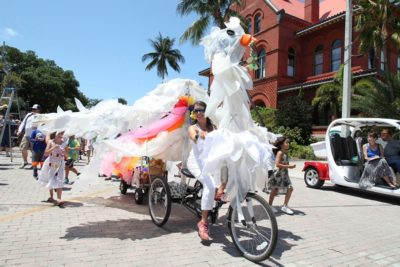 Papio Ambassadors Sought: Artist in School Stipends Offered for the Key West Art & Historical Society's Papio Kinetic Sculpture Parade