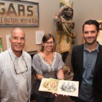 Florida Keys Man Discovers Rare Gato Cigar Progressive Proof Book, Now on Exhibit at Custom House Museum