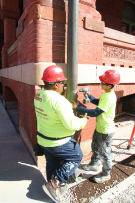 Stitch in Time to Save Nine: Custom House Museum Receives Repairs to Water Drainage Systems