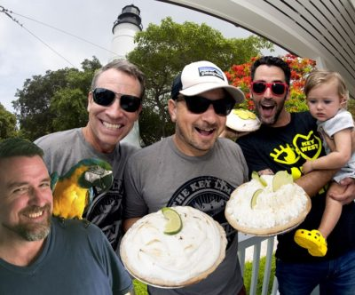 Key Lime Festival Kicks Off at Key West Lighthouse with Gravity-Defying Key Lime Pie Drop
