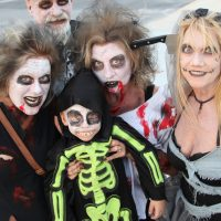 Zombie Bike Ride and Family-Friendly Celebration at Fort East Martello Creeping Up