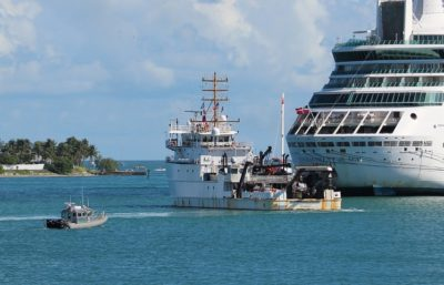 NOAA Ship Nancy Foster Deploys from Key West