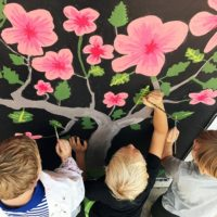 May Sands Montessori Honors Local Flora and Fauna with Mural