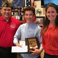 May Sands Montesorri Student Wins VFW Essay Award