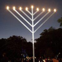 Menorah Lighting Ceremony at Bayview Park, Thursday, December 14