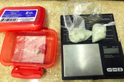 Man Arrested for Trafficking Meth