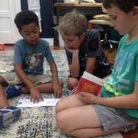 Montessori Reading Buddies and a Visit from KWFD