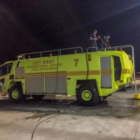 Monroe County Fire Rescue Receives New Crash Truck at Key West International Airport
