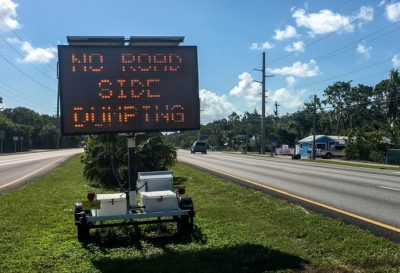Hurricane Debris Dumping Now Illegal Along U.S. 1 in the Keys