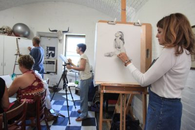 Key West Art & Historical Society Hosts Weekly Drawing Sessions at Fort East Martello Museum