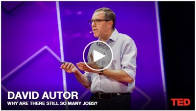 A Ted Talk: Why Are There Still So Many Jobs?