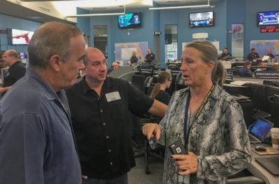 Monroe County Staff Helps Emergency Workers in Panhandle